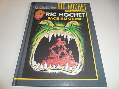 La Collection Ric Hochet Tome 38/ Face Au Crime/ Tbe