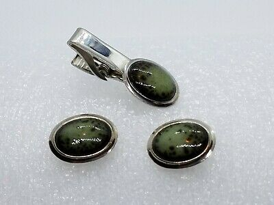 Vtg 50 FACETED 2 WAY FIRE POLISHED GREEN BROWN GLASS SPACER BEADS 10mm #051614m