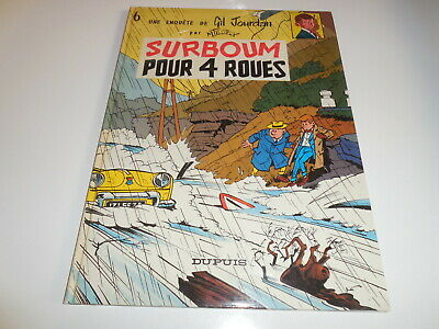 Gil Jourdan Tome 6/ Surboom Pour 4 Roues/ Tbe