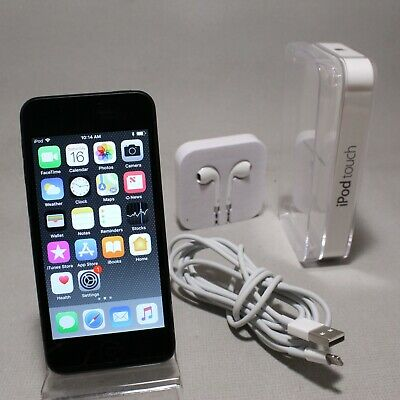 Apple iPod touch 6th Generation Space Gray (32GB) Bundle Good Condition