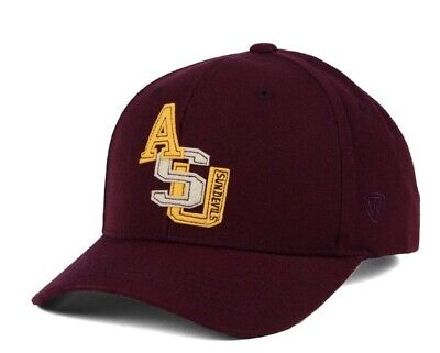 online retailer 0e2fa 4d506 New Arizona State Sun Devils Top of The World Venue Hat NCAA Adjustable  Maroon