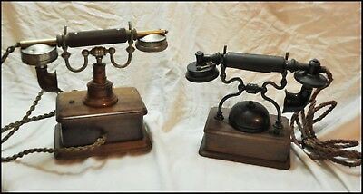 Telephone - Lot Telephones Collection Peel Conner