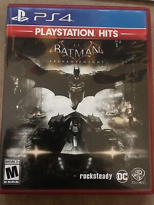 Batman: Arkham Knight PlayStation Hits PS4 SLIGHTLY USED