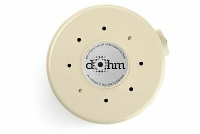 Marpac DOHM-DS, Natural White Noise (actual fan inside) Sound Machine, Tan , New