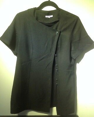 Beauty Therapist Tunic in Black by LaBeeby - Size 14