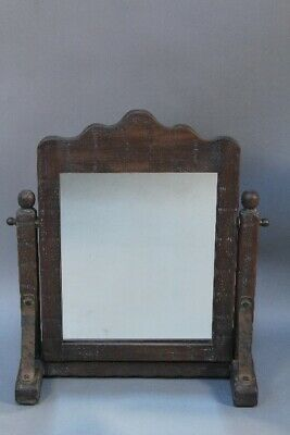 Rare Signed 1930's Rancho California Monterey Shaving Mirror on Stand (11695)