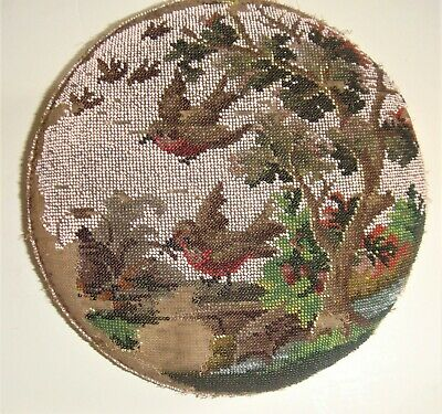 Antique bead work with Robbins for restoration