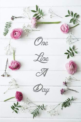One Line A Day: Five Years Journal Planner, 6 x 9 inches in  PAPERBACK NEW BOOK