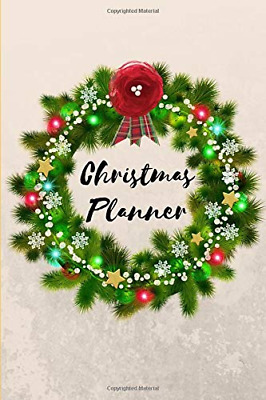 Christmas Holiday Organizer Planner Journal: Small Mini 3 Mo PAPERBACK NEW BOOK