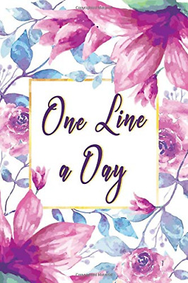 One Line A Day Journal: Five Years of Memories, Diary, Journ PAPERBACK NEW BOOK