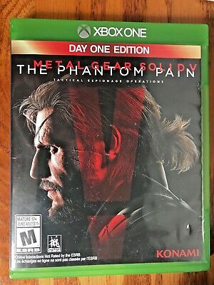 METAL GEAR SOLID V The Phantom Pain Day One Edition Microsoft Xbox One 2015