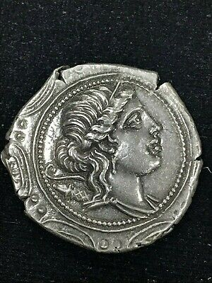 Collectable Ancient Coin Aphipolis Artemis Silver Greek Tetradrachm