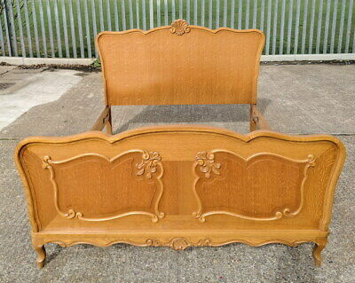 Louis XV Style Vintage French Double Bed
