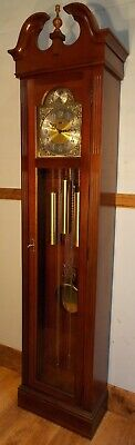 Grandfather Clock-Exc Cond/Hermle Wchime/NATIONWIDE PERSONAL DELIVERIES