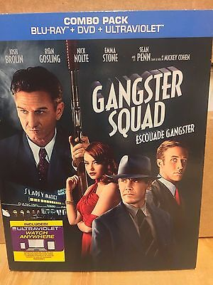 Gangster Squad Blu-ray & DVD, 2 Disc Set, NEW, SEALED