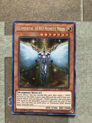 Yu-Gi-Oh! Elemental HERO Honest Neos - BLRR-EN079 -1st Edition Mint Condition