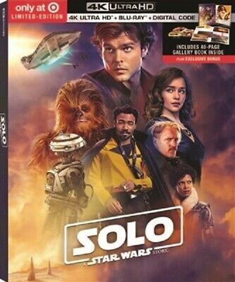Solo: A Star Wars Story 4K UHD 4K (used) Blu-ray Only Disc Please Read