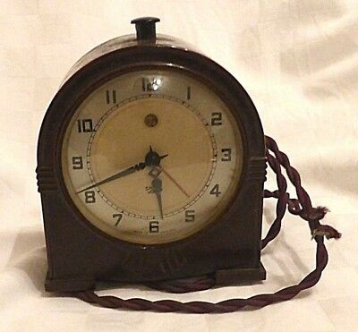 Smiths Sectric Mantle Bakelite Clock