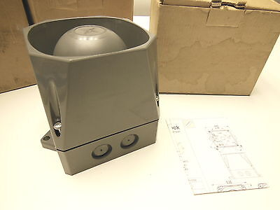 Cooper Alarm MIN-T Sounder Siren w/ anti-tamper 9-60V Outdoor grey 25-9357-A
