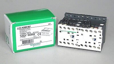 Schneider LC2K0901B7 Reversing Contactor, 24VAC, 5 HP, New in Box
