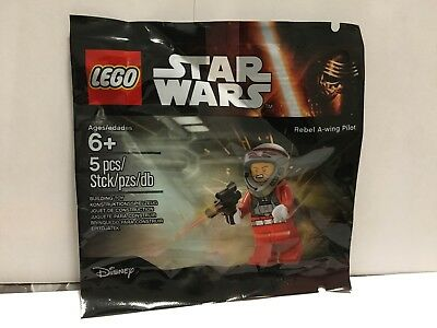 LEGO 5004408 STAR WARS Rebel A-wing Pilot NUOVO MISB