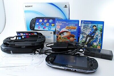 Sony PS Vita  PCH-1000 1GB Black Handheld System from japan [EXCELLENT] #410223