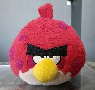 ANGRY BIRDS TERENCE Big Brother Red Plush 5