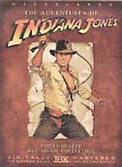 The Adventures of Indiana Jones The Complete DVD Movie Collection 4 Disc Set