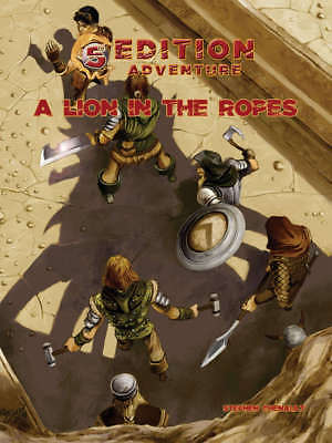 5th Edition Adventure - Dungeons & Dragons RPG - A Lion In The Ropes