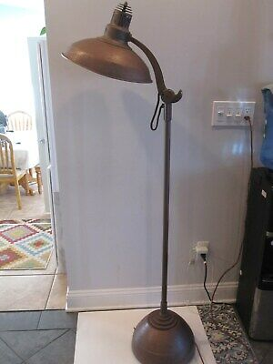 antique general electric sun lamp,,1930s