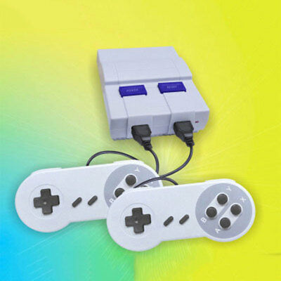Mini Retro Vintage Classic TV Game Console 400 Built-in Games with 2 Controllers