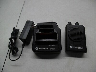 Motorola Minitor V Pager and Charging base