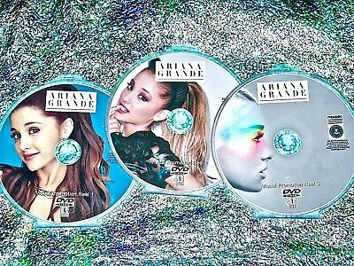 ARIANA GRANDE 61 Music Videos Visual Promotion Reel Collection 3 DVD Set 11-2019