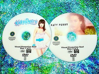 KATY PERRY Visual Promotional Reel with 43 Music Videos 2 DVD Set 3 Hours LONG