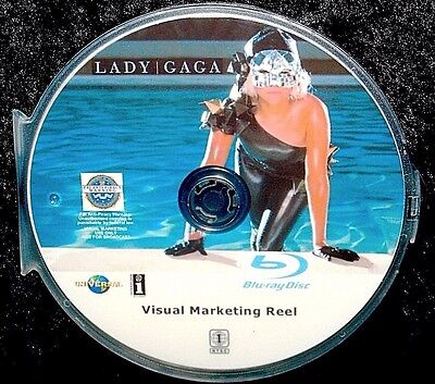 LADY GAGA Visual Marketing Reel 28 Music Videos BLU-RAY DVD 2.5 Hours