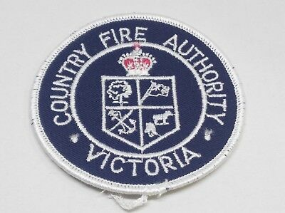 Collectable Country Fire Authority Cfa Victoria Patch / Badge