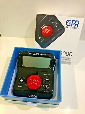 CPR Call Blocker V5000 Pre-Loaded with 5000 known Scam Numbers