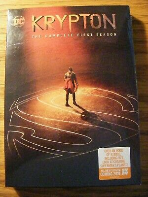 Krypton Dc Comics Syfy The Complete First Season 1 One 2019 Dvd No Knockoffs