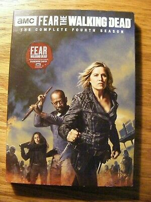 Fear The Walking Dead The Complete Fourth Season 4 Four 2019 Dvd No Knockoffs