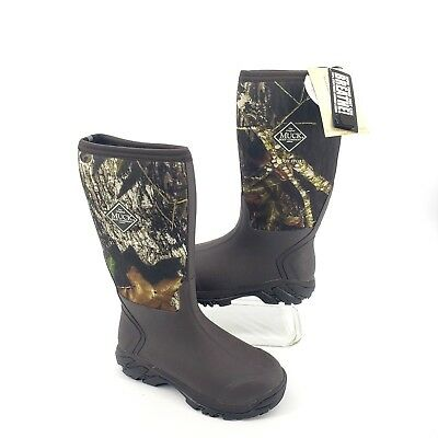 NWT Muck Boot Woody Sport Boot Mossy Oak Mens 7 7.5 M Womens 8 8.5M US Unisex