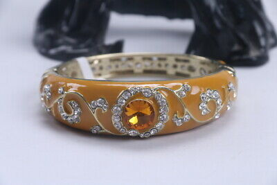 Exquisite Chinese Hand carving Cloisonne inlay rhinestone Bracelet ad138