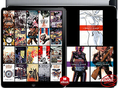 The Umbrella Academy- Apocalypse Suite + Dallas + Hotel Oblivion (1-5) +Gift PDF