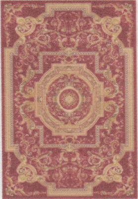 "1:48 Scale Dollhouse Area Rug 0001933 - approximately 1-15/16"" x 2-7/8"""