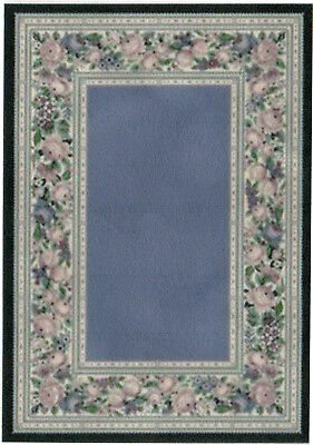 "1:24 Scale Dollhouse Area Rug approximately 4"" x 5-11/16"" - 0002031"