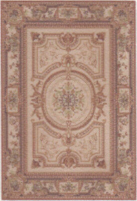 "1:48 Scale Dollhouse Area Rug 0001970 - approximately 2"" x 2-15/16"""