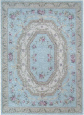 "1:48 Scale Dollhouse Area Rug 0001969 - approximately 1-15/16"" x 2-11/16"""