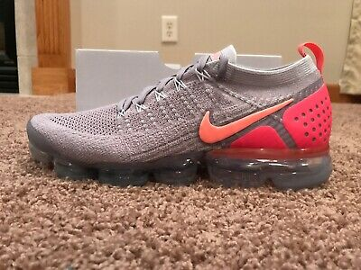 abc88fb87bc Nike Wmn s Air Vapormax Flyknit 2 Atmosphere Gry Crmsn Pulse Size 12 942843  005