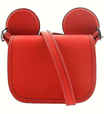 a0dc93e123 NEW COACH DISNEY X Mickey Mouse Patricia Ears Saddle Crossbody Bag ...