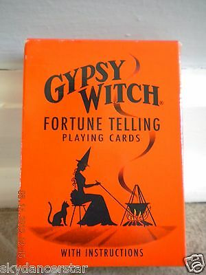 GYPSY WITCH FORTUNE TELLING PLAYING CARDS TAROT DECK Oracle Divination GAME NEW