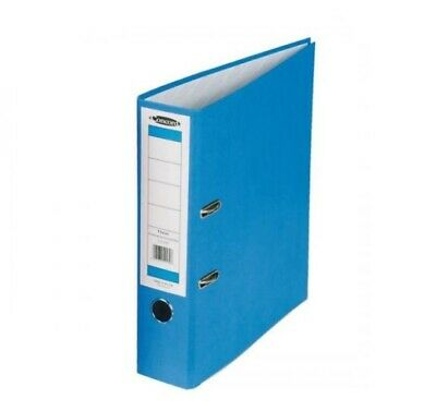 4 x CONCORD CLASSIC 50mm A4 FOOLSCAP OFFICE LEVER ARCH FILE BLUE C216050SP
